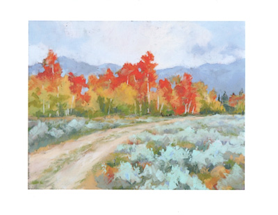 A Fall to Remember watercolor note cards
