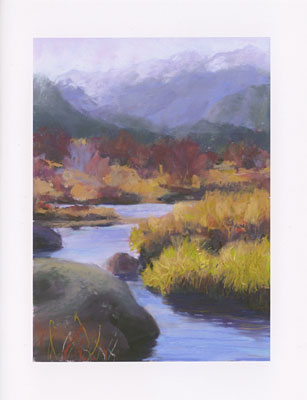 Rocky Mountain Willow Carr watercolor note cards
